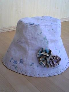 カントリーテイストの帽子☆