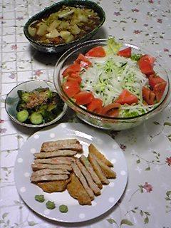 初公開☆夕飯