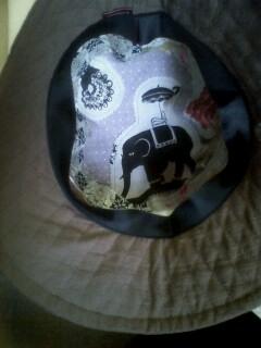 キルティングの帽子☆