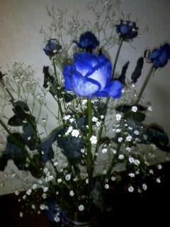 青いバラ☆